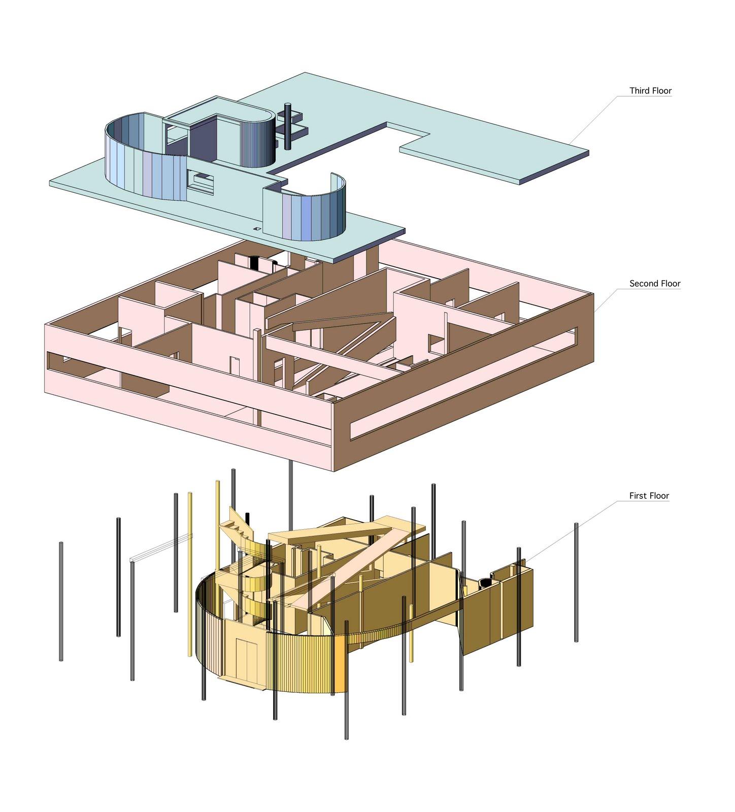 Villa Savoye Floor Plans Ad 234 S Arquitectura Ville Savoye